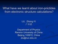 Fe - International Institute of Physics