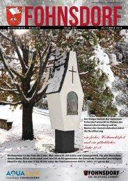 Zur Ausgabe Dezember 2013 - Gemeinde Fohnsdorf