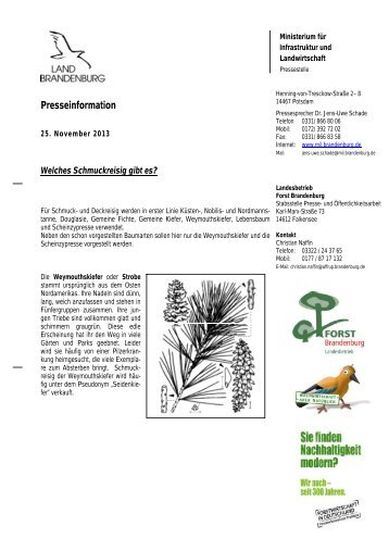 schmuck13.pdf - Landesbetrieb Forst Brandenburg