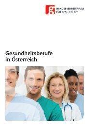 Gesundheitsberufe in Österreich - Bundesministerium für Gesundheit