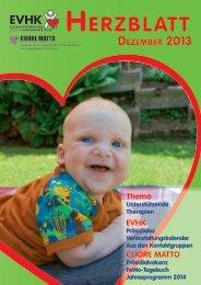 HERZBLATT - Elternvereinigung für das herzkranke Kind