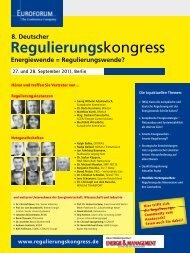 Regulierungskongress - IIR Deutschland GmbH