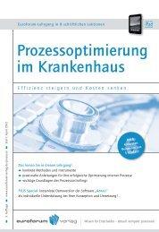 Prozessoptimierung im Krankenhaus - IIR Deutschland GmbH