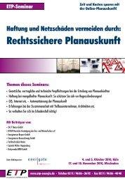 Rechtssichere Planauskunft - IIR Deutschland GmbH