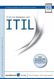 IT Service Management nach - IIR Deutschland GmbH