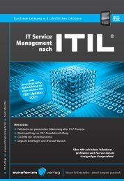 IT Service Management nach - IIR Deutschland GmbH