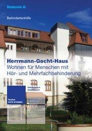 Broschüre Hermann-Gocht-Haus - Stadtmission Zwickau eV