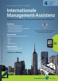 Internationale Management-Assistenz - IIR Deutschland GmbH