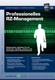 Professionelles RZ-Management - IIR Deutschland GmbH