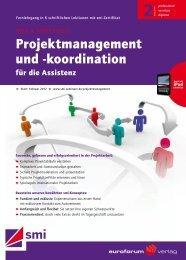 Projektmanagement und -koordination - IIR Deutschland GmbH