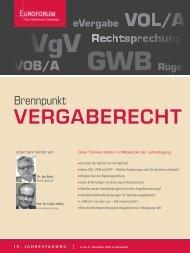 VERGABERECHT - IIR Deutschland GmbH