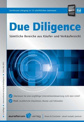 Diligence - IIR Deutschland GmbH