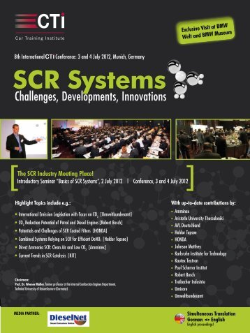 SCR Systems - IIR Deutschland GmbH