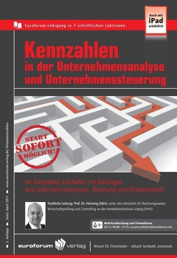 in der Unternehmens analyse und Unternehmenssteuerung