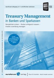 Treasury Management - IIR Deutschland GmbH