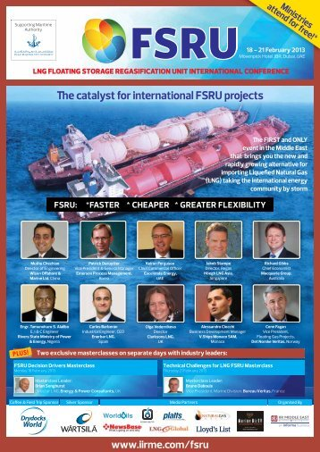 e catalyst for international FSRU projects - IIR Middle East