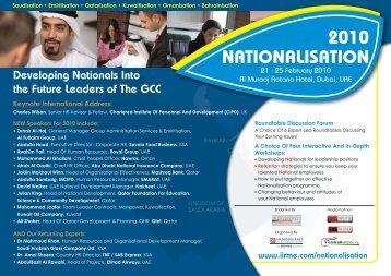 Nationalisation 2010 - IIR Middle East