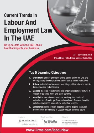 BC4927 Labour Law UAE.indd - IIR Middle East