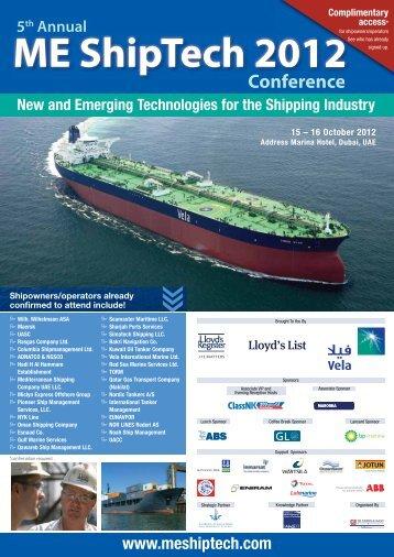 ME ShipTech 2012 - IIR Middle East
