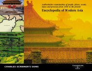 Encyclopedia of Modern Asia - The Institute of Ismaili Studies