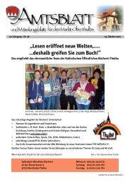 Lesen eröffnet neue Welten,..... ...deshalb greifen ... - Revista Verlag