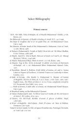 Select Bibliography - The Institute of Ismaili Studies