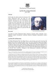 Aga Khan III: A Study in Humanism - The Institute of Ismaili Studies