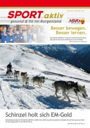 Ausgabe Dezember 2013 - ASVÖ Burgenland