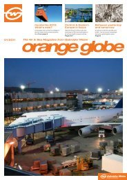 The Air & Sea Magazine from Gebrüder Weiss 01/2011