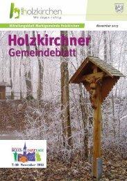 November 2013 - Holzkirchen
