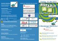 2. Marsberger Bike & Run Freitag, 10. Mai 2013 - adiepro