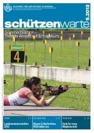 Thordis Arnold auf Erfolgskurs - Schützenwarte - WSB