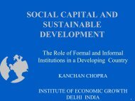 The Role of Formal and Informal Institutions in a Developing Country ...