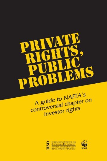 Private Rights, Public Problems - International Institute for ...