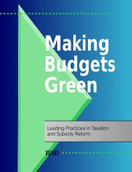 Making Budgets Green - International Institute for Sustainable ...