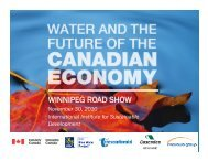 Water Road Show_Nov30 - International Institute for Sustainable ...