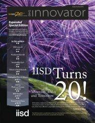 IISD Innovator June, 2010 - International Institute for Sustainable ...