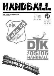 DJK Styrum 06 - Saisonheft 2007/2008