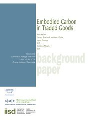 Embodied Carbon in Traded Goods - International Trade Centre