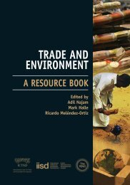 Trade and Environment: A Resource Book - International Institute for ...