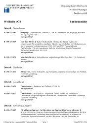 Weilheim i.OB Baudenkmäler - Bayern