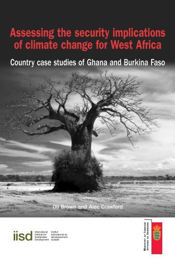 Assessing the security implications of climate change for West Africa ...