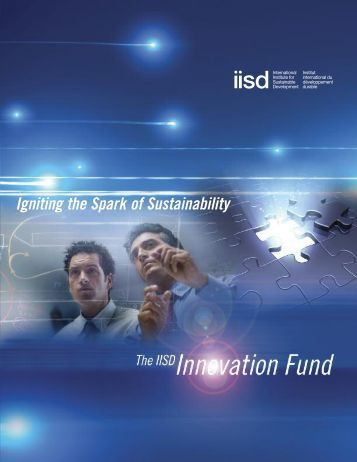 Igniting the Spark of Sustainability - International Institute for ...