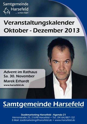 Download Veranstaltungskalender 2013 - Samtgemeinde Harsefeld