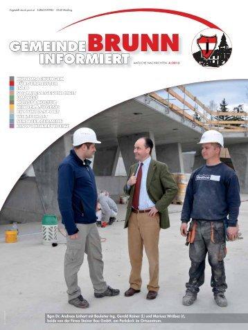Gemeindezeitung 4/2013 - Brunn am Gebirge