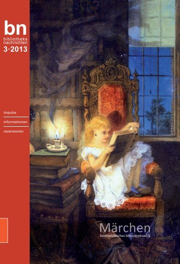 3·2013 - Österreichisches Bibliothekswerk