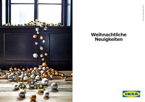 Weihnachtliche Neuigkeiten - Ikea