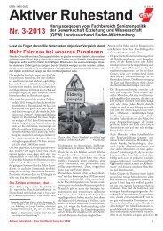 AR 3-2013c.indd - Gewerkschaft Erziehung und Wissenschaft ...