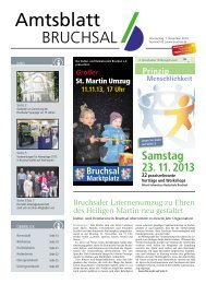 Amtsblatt KW 45/2013 - Bruchsal