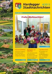 Hardegger 4/2013 Stadtnachrichten